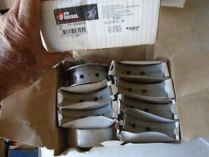 Ford Benz Case Cummins 6b 6bt 6bta 5 9 6 7 Main Bearing Set 3802072 50mm