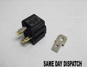 Automotive 12v 30amp 4 Pin Relay Car Motorbike Van With Bracket In 1