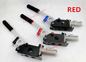 Red Hydraulic Racing Drift Rally Hand E Brake Handle Parking Handbrake Lever