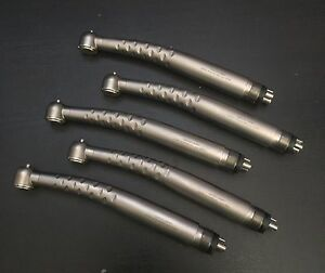 New Lot Of 5 Dental Fast High Speed Handpieces