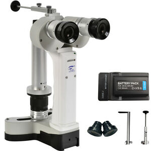 Lightweight Ophthalmic Handheld Portable Slit Lamp Microscope With Ce Approval