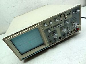 Bk Precision Model 2120 Oscilloscope 115v 230v 50 60hz 35 Watts 20mhz