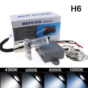Universal Motorcycle H4 H6 H6m Bi Xenon 35w Hid Light Moto Car Headlight Kit Hid
