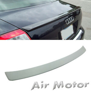 Unpainted Audi A4 B6 Abt Type New 01 02 04 05 Boot Trunk Spoiler Rear Wing