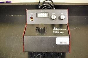 Hoefer Scientific Single wavelength Dna Mini fluorometer Tk0100 115v