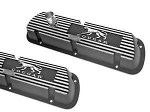 New Mercury Cougar Valve Covers 289 302 351w Aluminum Pair