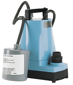 New Little Giant Submersible Utility Pump 1 6 Hp 120vac 10 Cord 5 asp fs