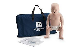 Prestan Infant Cpr Manikin Medium Skin Cpr Aed Training Mannequin Pp cm 100 ms