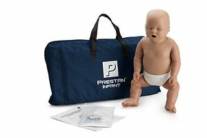 Prestan Infant Cpr Manikin Dark Skin Cpr Aed Training Mannequin Pp cm 100 ds