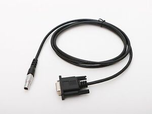 5pin 0b To Db9 Com Data Cable For Leica Tcr402 tcr802 tcr1200 Total Stations