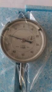 Tesa Swiss Made Precision Dial Indicator Range 0 1mm Graduation 0 001mm