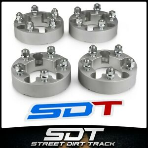 2 Wheel Spacers 5 X 114 3mm For Dodge Dakota Ford Explorer Ranger Mazda Silver