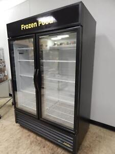 True 2 glass Door Merchandising Freezer Gdm 49f hc
