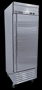 New Maxx Cold Mxsf 23fd Single Door Upright Reach in Freezer Free Shipping