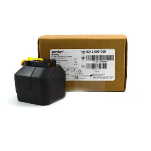 Stryker Brand New System 6 Small Battery Yellow Tab