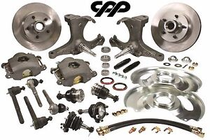 63 70 Chevy C10 Gmc Truck Stock Spindle Disc Brake Conversion Kit Upgrade 5 Lug
