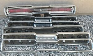 X Thunderbird Back Rear New Triple Chrome Plated Bumper 64 66 1964 1966 Ford Oem