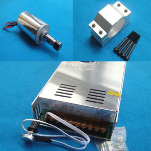 200w Dc Spindle Motor Engraver Spindle Motor Engraving Milling 12000rpm 3 175mm