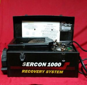 Technical Chemical Co Sercon 1000 Freon Refrigerant Recovery System Zz