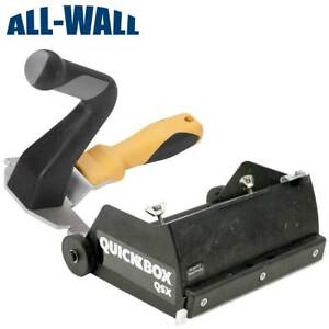 Tapetech Quickbox Qsx 6 5 Fast Set Compound Flat Box W wizard Compact Handle