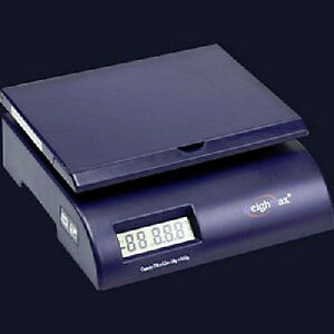 Weighmax Digital Postal Scale 35 Lb Weighing Letters And Packages Blue