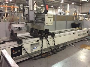 Fom Argo 40 Rm 3 5 axis Cnc Router For Aluminum Extrusion Low Use