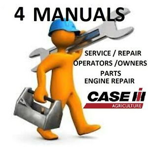 Case Ih Stx325 Tractor 4 Manuals Service Repair Engine Owners Parts Pdf