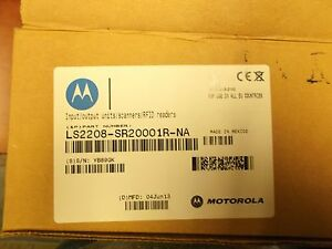 New Motorola Ls2208 White Pos Barcode Reader Scanner usb Cable 1049