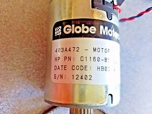 Globe Motors 403a472 With Heds 5505 A04 Optical Encoder