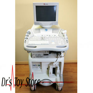 Ge Vivid 3 Pro Ultrasound Machine With 3s 7l Transducer Probes