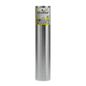 Infrastop 48 X 25 Double Bubble Reflective Foil Insulation