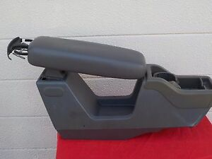 Ford Explorer Middle Center Console Arm Rest 01 Oem Gray Color