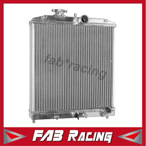 3 Row Aluminum Radiator For Honda Civic Eg Ek 1992 1998 In Outlet 32mm Manual