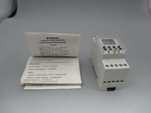 Tork Din201b 2 Channel Digital Time Switch Spdt 120v 16a Timer