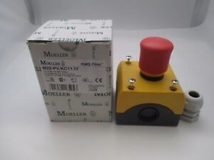 Moeller M22 pv kc11 iy Emergency Stop Switch New