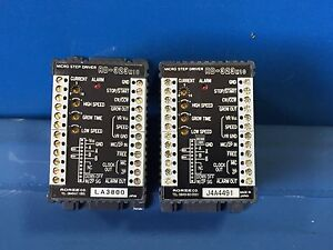 Rorze Rd 323m10 Micro Step Drivers Lot Of 2