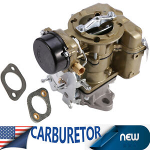Top Carburetor Ford Yf Type Carter 240 250 300 6 Cil Vacuum 1975 1982 1 Barrel