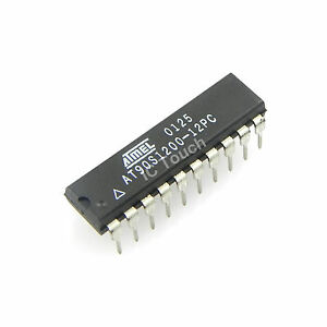 10pcs At90s1200 12pc Ic 8 bit Microcontroller Atmel Corporation Ic Pdip 20