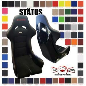 Status Racing Seats Frp Fia Approved Black
