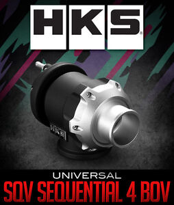 Genuine Hks Sqv Sequential 4 Blow Off Valve 51mm Bov 71008 ak004