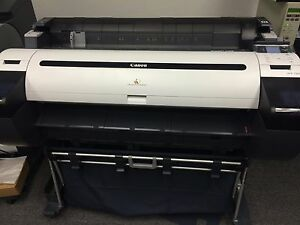 Canon Ipf785 Wide Format Printer Large Plotter Pn 8966b002aa Blueprints