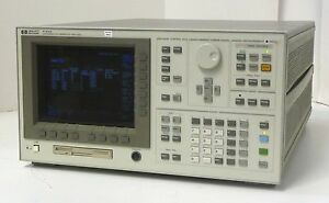 Hp 4155a Semiconductor Parameter Analyzer High Resolution