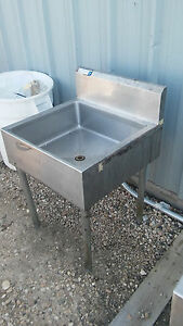 24 X 24 Insulated Ice Well used Restaurant Equipment