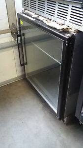 Single Door Display Freezer Used Restaurant Equipment