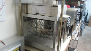 Hot Dog Rotisserie With Bun Warmer Used Restaurant Equipment