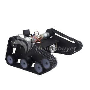 Open Source Robot Car Chassis Caterpillar Metal Robot Crawler Tracked Vehicle