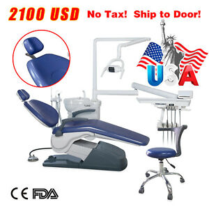 Computer Controlled Dental Unit Chair With Dentist Stool