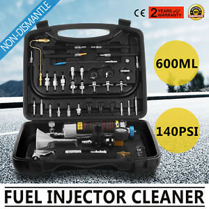 Fuel Injector Cleaner Tester Autool C100 Non dismantle Fuel System Petrol Car
