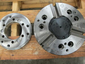 Lmc Pc 10 82 01 10 3 jaw Hydraulic Chuck For Haas Sl 30 And St 30