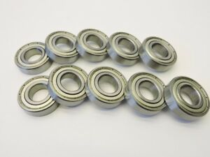 10 Vnc R12z Ball Bearing Shielded Deep Groove 3 4 X 1 5 8 X 7 16 Stainless
